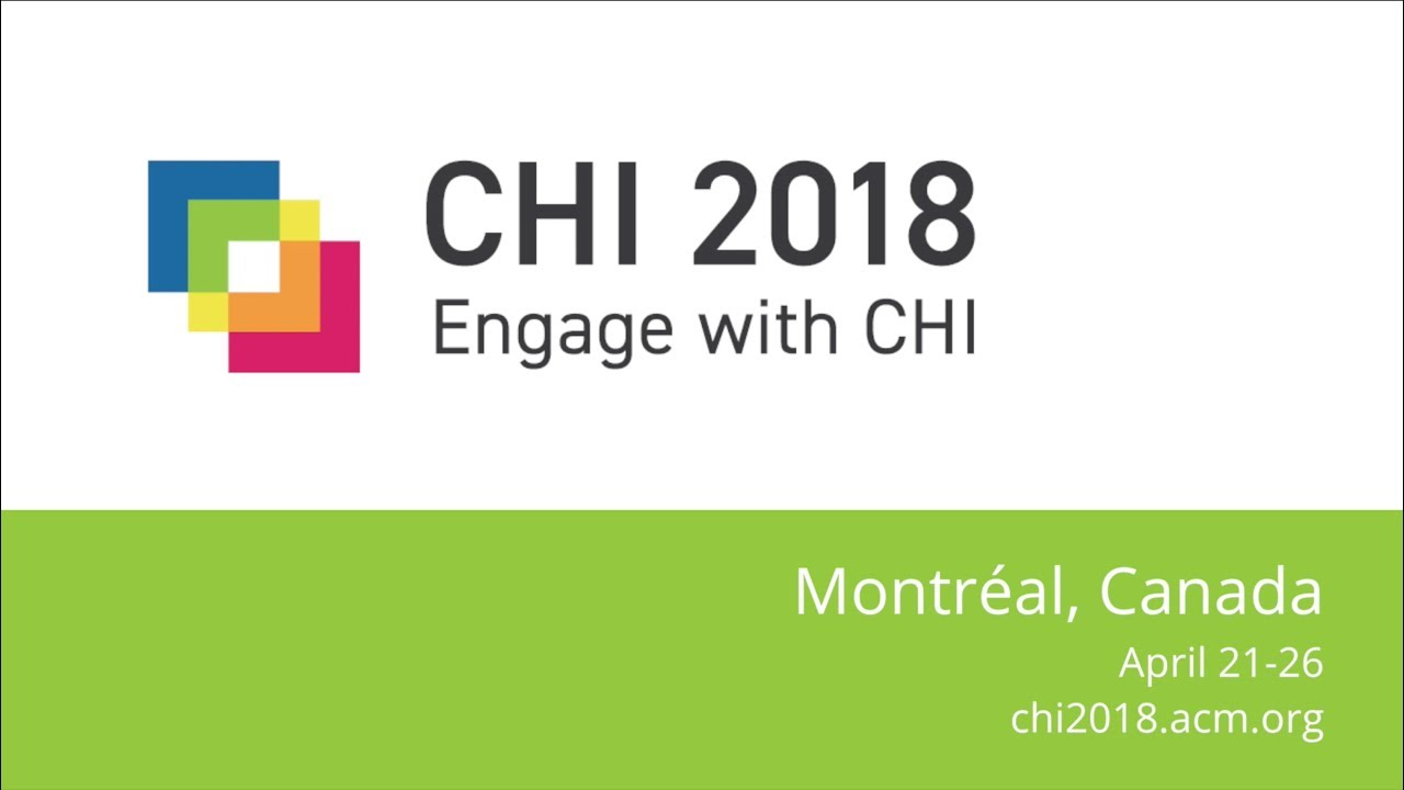 CHI 2018 Art Show