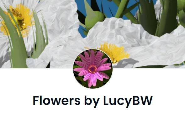 Flowers by LucyBW Collection OpenSea